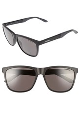 Carrera Men's Eyewear 8022 S 56Mm Polarized Sunglasses Matte Black