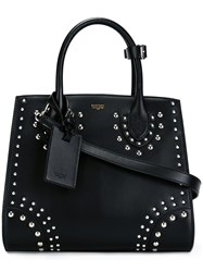 Bertoni 1949 'Darcy' Studded Shoulder Bag Black