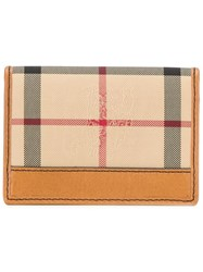 Burberry 'House Check' Cardholder Nude Neutrals