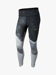 Nike Slim Capri Running Tights Wolf Grey