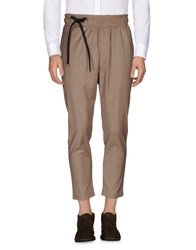 Mnml Couture Casual Pants Camel