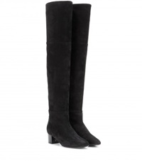 Tom Ford Suede Over The Knee Boots Black