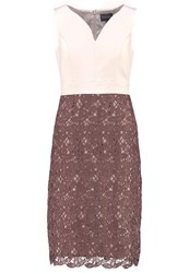 Phase Eight Palmer Summer Dress Oyster Brown