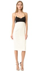 Narciso Rodriguez Sleeveless Dress Gesso Black