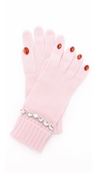 Kate Spade Pretty Lady Gloves Pastry Pink