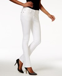 Buffalo David Bitton Faith Skinny White Wash Jeans
