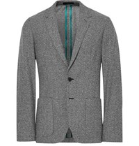 Paul Smith Grey Soho Slim Fit Wool Blend Blazer Gray