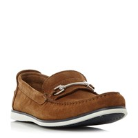 Dune Bronn Casual Snaffle Loafer Tan