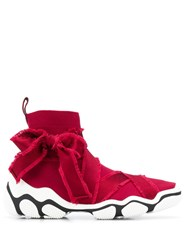 Red Valentino V Glam Run Sneakers Red