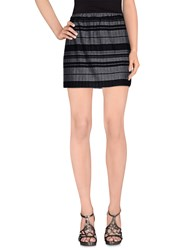 Daniele Alessandrini Skirts Mini Skirts Women Grey