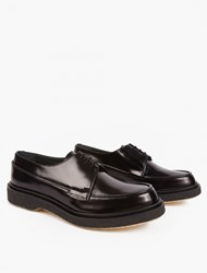 Adieu Black Leather Type 48 Shoes