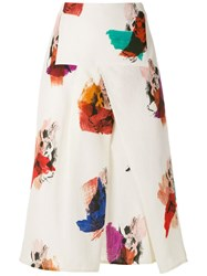 Andrea Marques Panelled Midi Skirt 60