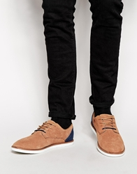 Pull And Bear Pullandbear Casual Lace Up Shoes Brown