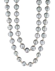 Effy 9Mm White And Gray Pearl Necklace Grey