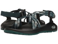 Chaco Zx 2 Classic Angular Teal Women's Sandals Blue