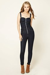 Forever 21 Zip Front Overalls