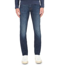 Tommy Hilfiger Denton Straight Fit Low Rise Jeans Long Cove Blue