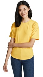 Rebecca Minkoff Lilly Knit Top Yellow