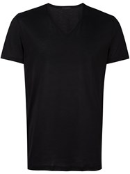 La Perla 'Club' Lightweight T Shirt Black