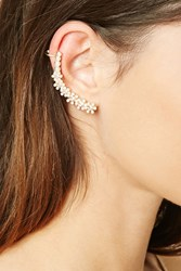 Forever 21 Faux Pearl Ear Cuff Set
