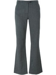 Dolce And Gabbana Vintage Flared Trousers Grey