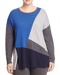 Marina Rinaldi Alassio Color Block Sweater China Blue