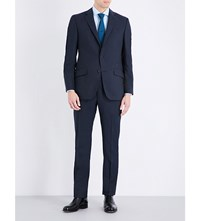 Richard James Regular Fit Wool Suit Navy