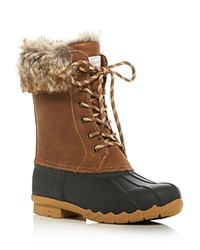 Sporto Agnes Cold Weather Duck Boots Tan