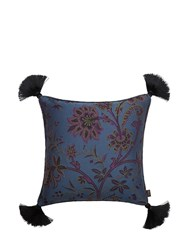 House Of Hackney Medium Indienne Jacquard Pillow Blue