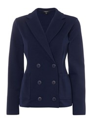 Therapy Demi Double Breasted Jacket Navy