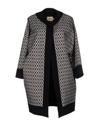 Fausto Puglisi Coats And Jackets Coats Women Black