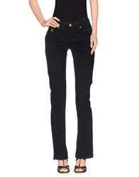Duck Farm Denim Denim Trousers Women Black