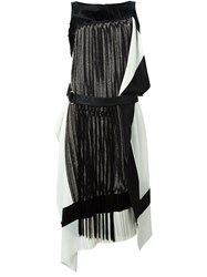 Antonio Marras Fringed Belted Dress Black