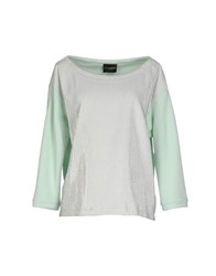 Atos Lombardini Topwear Sweatshirts Women Light Green