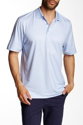 Cutter And Buck Cb Drytec Empire Print Polo Blue