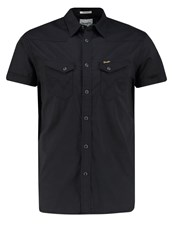 Wrangler Regular Fit Shirt Real Black Grey