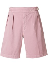 Ermenegildo Zegna Bermuda Shorts Pink And Purple