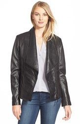 Women's Soia And Kyo 'Nerissa' Oversize Collar Leather Jacket