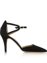 Hobbs Paloma Ankle Strap High Heel Shoes Black