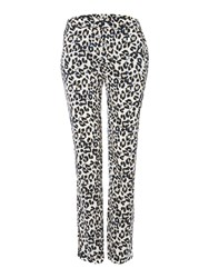 Biba Animal Print Trouser Multi Coloured Multi Coloured