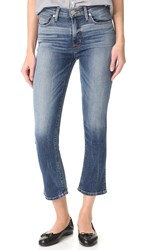 Hudson Harper High Rise Cropped Jeans Life Line