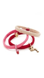 Marc Jacobs Faucet And Pills Ponytail Holder Red Multi