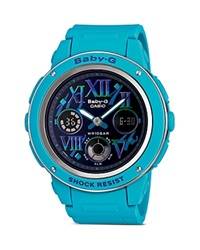 Baby G Baby G Blue Large Analog Digital Watch 47.5Mm