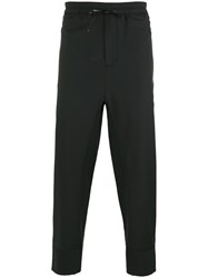 3.1 Phillip Lim Tapered Track Pants Black