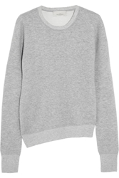 Studio Nicholson Lexington Felted Cashmere Sweater Gray