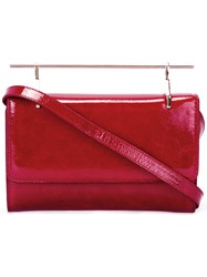 M2malletier Patent Bag Red
