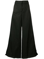 Andrea Ya'aqov Super Wide Trousers Black