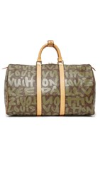 Wgaca Louis Vuitton Stephen Sprouse Keepall 50 Bag Previously Owned