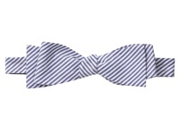 Cufflinks Inc. Striped Cotton Bow Tie Blue Ties