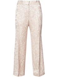 Protagonist Cropped Tailored Trousers Women Viscose 4 Nude Neutrals